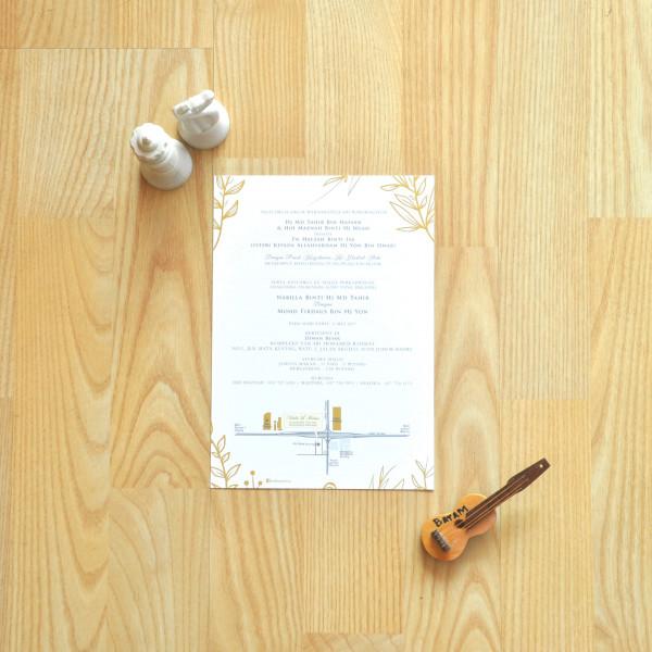 Offset Round Corner Business Card